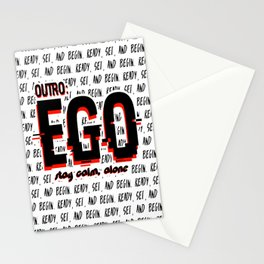 EGO - Stay calm alone Stationery Cards