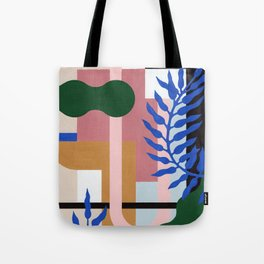 Leather Fern | Painting Tote Bag