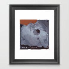 The Empty Shell Framed Art Print