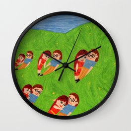 A Dream I Had Wall Clock