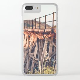 Spring Creek Trestle Clear iPhone Case