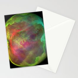 Green Planet Stationery Cards