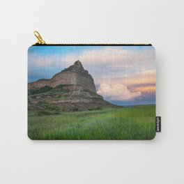 Scottsbluff - Landscape in Evening Light in Western Nebraska Carry-All Pouch
