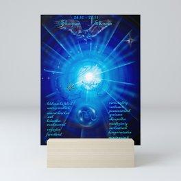 Zodiac sign Skorpio Mini Art Print