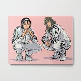 fre$h Metal Print