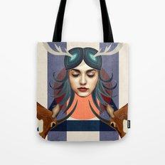 Antelope Girl Tote Bag