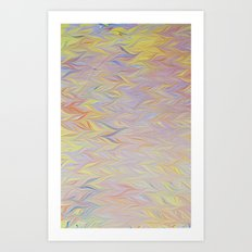 Marble Print #46 Art Print