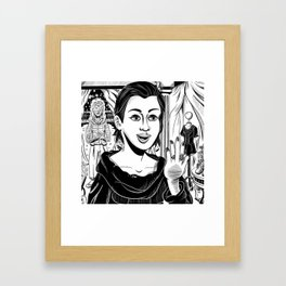 The Tale of the Vacant Lot Framed Art Print