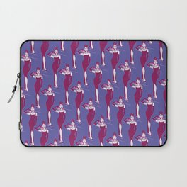 Audrey Hepburn pop art purple pattern Laptop Sleeve