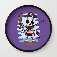 Pirate Ned Wall Clock