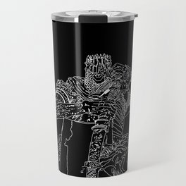 Yorm the reclusive Giant lord Travel Mug