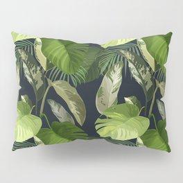 Tropical Leaf Pattern 1 Pillow Sham