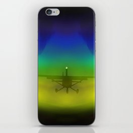 Wing-tip Vortices iPhone Skin