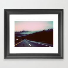 Comin' around the Mountain Framed Art Print