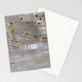 Silver and Gold Abstract Stationery Cards