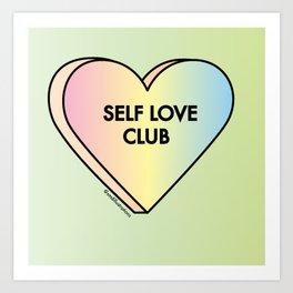 Self Love Club Art Print