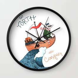 Go Forth and Conquer! Wall Clock