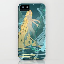 Nymph of the river iPhone Case
