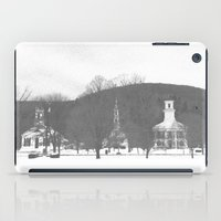 vermont iPad Cases featuring Vermont Churches by BACK to THE ROOTS