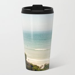 Vintage Beach Metal Travel Mug