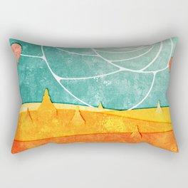 Bagan at sunrise Rectangular Pillow