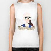 mother of dragons Biker Tanks featuring Mother of Dragons by hellokittyloli