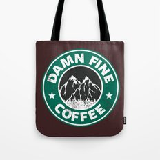 Damn Fine Coffee Tote Bag