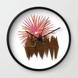 Boiling Sun Wall Clock