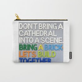 Bring A Brick Carry-All Pouch