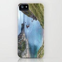 Man O War Bay, Dorset iPhone Case