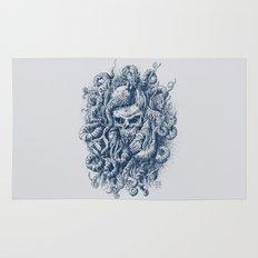 Mermaid Skull 2 Rug