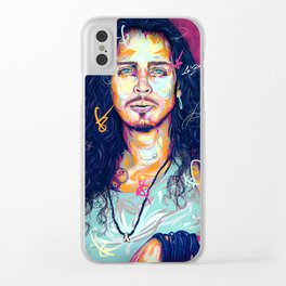 Angel Cornell Clear iPhone Case
