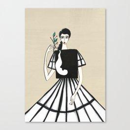 Henri Matisse inspired fashion #2 Canvas Print