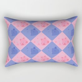 Glaring Rectangular Pillow