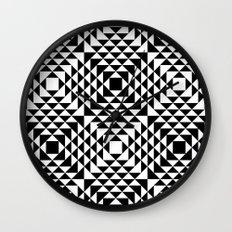 Geometric Tribal Wall Clock
