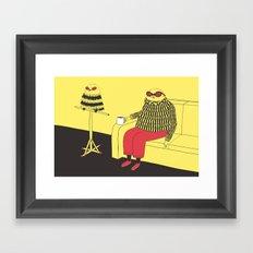 Owl Lookalike Framed Art Print