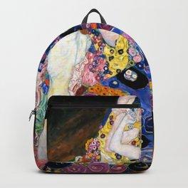 Gustav Klimt Die Jungfrauen The Maiden Backpack
