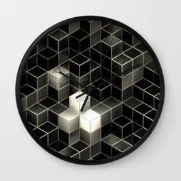 Cube City N.2 Wall Clock