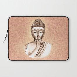 Buddha Shh.. Do not disturb - Colored version Laptop Sleeve