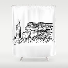 Old Man Of Hoy Shower Curtain