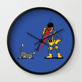 Cats & Lasers Wall Clock