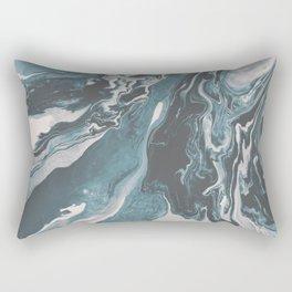 Teal (soul mate) Rectangular Pillow