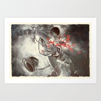 Bodies in Space: Rupture Art Print