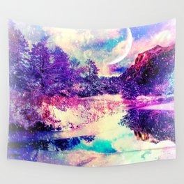 winter pastel Wall Tapestry