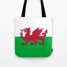 National flag of Wales - Authentic version Tote Bag