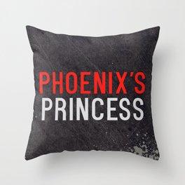 Phoenix's Princess Throw Pillow