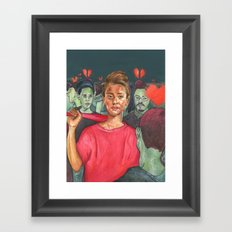 Heartbreaker Framed Art Print