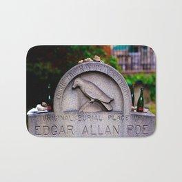 Original Burial Place of Edgar Allen Poe Bath Mat