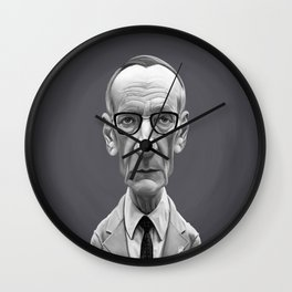 William Burroughs Wall Clock