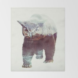 Owlbear Throw Blanket